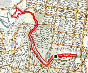 Barwon River Loop Map