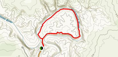 Murchison Gorge Trail Map