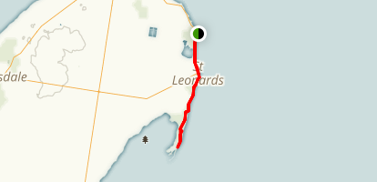 Indented Head to Edwards Point Wildlife Reserve Map