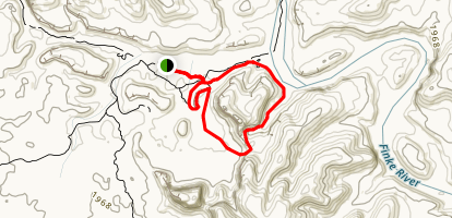 Kalarranda-Mpaara Loop Trail Map