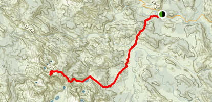 Frenchman's Cap Trail Map