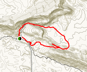Ormiston Gorge and Pound Loop Map
