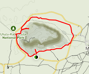 Uluru Circuit Trail Map
