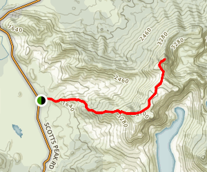 Mount Anne Trail Map