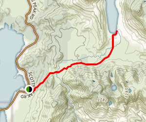 Lake Judd Trail Map