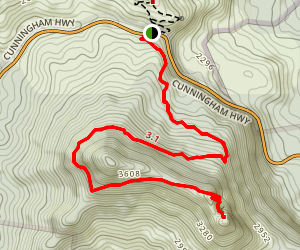 Mount Mitchell Trail Map
