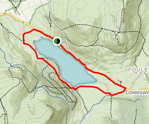 Loweswater Circuit Trail Map
