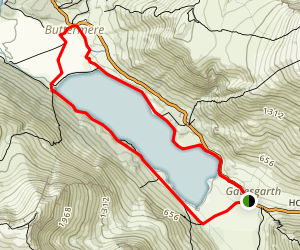 Buttermere Circuit Map