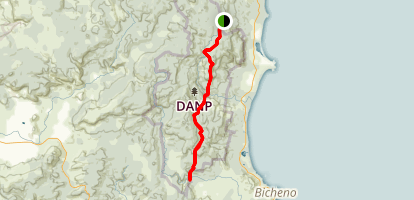 Leeaberra Trail Map