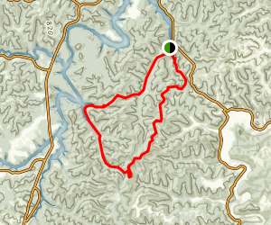 Grayson Lake Wildlife Management Area Trail Map