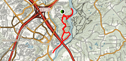 West Palisades Trail Map