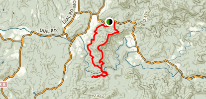 Toccoa River Trail Map