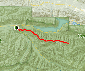 Aurora Ridge Trail Map
