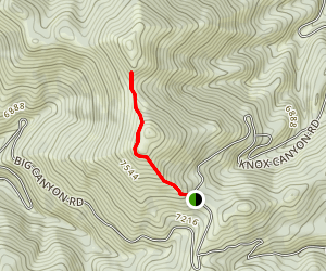 Deep Creek Crest Trail Map