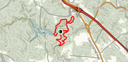 Calico Bush and Salt Creek Trails Map