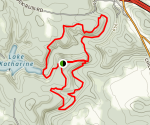 Calico Bush Trail, Pine Ridge Trail, and Salt Creek Trail Loop Map