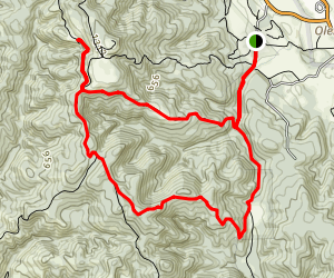 Old Pine/Sky/Meadow Loop Map