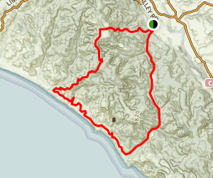 Mt. Wittenberg-Sky-Woodward Valley-Coast-Bear Valley Trail Map