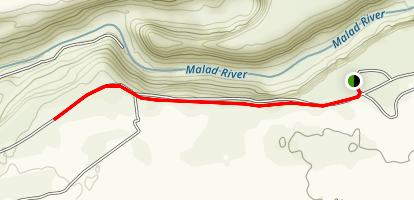 Malad Gorge Walk Map