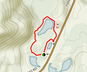Nunatak Nature Trail Map