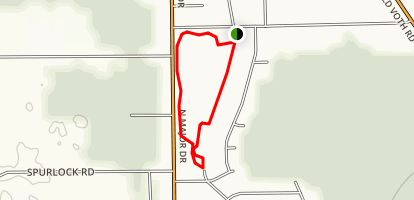 Klein Park Loop Trail Map
