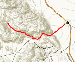 Torote Canyon Trail Map