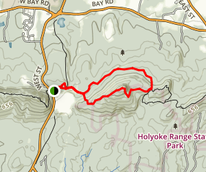 Mount Norwottuck Map