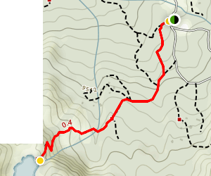 Cecret Lake Trail Map
