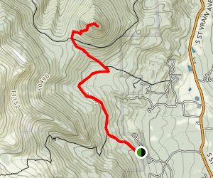 Estes Cone Trail Map