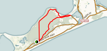 Hither Hills Trail Map