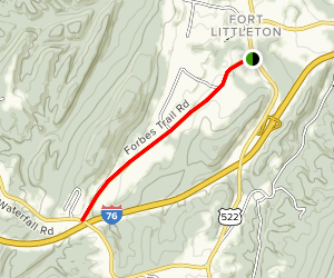 Forbes Trail Road Map