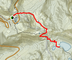 Dewey Lake Trail Map