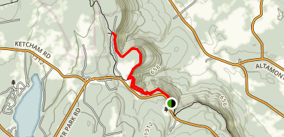 Indian Ladder Trail Map