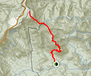 Pilot Rock Trail Map