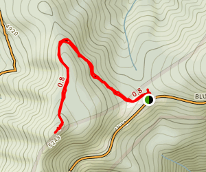 Fryingpan Mountain Trail Map