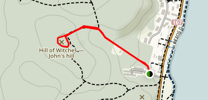 Witches Wood Ragany Kalnas Map