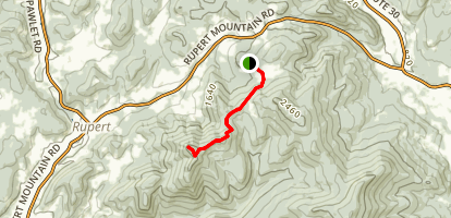 Merck Forest Trail Map