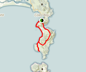 Freycinet Peninsula Loop Map