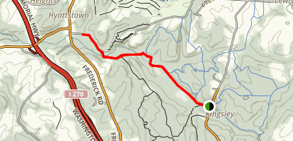 Western Piedmont Trail Map