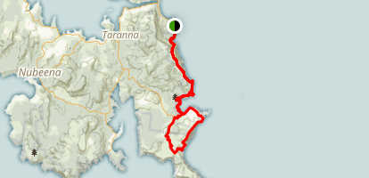 Tasman Peninsula Trail Map
