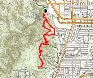 Hopalong Cassidy Trail Map