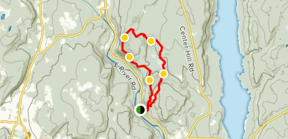 Peoples State Forest Loop Map