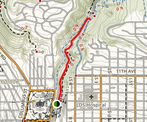 Memory Grove Trail Map