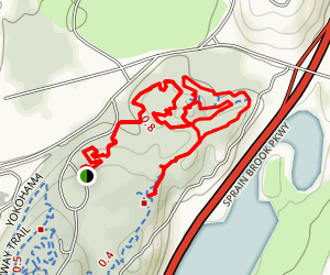 Sprain Ridge Mountain Bike Loop Map