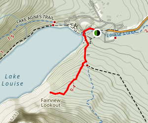 Fairview Lookout Map