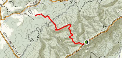 Spec Mines Trail Map