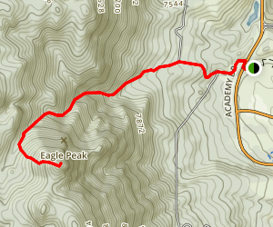 Eagles Peak Trail Map