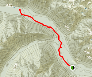 Icicle Creek Trail Map
