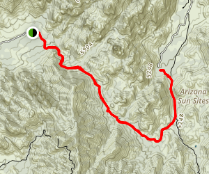 Cochise Stronghold Trails Map