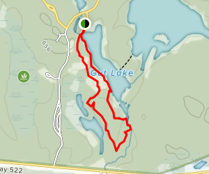 Gut Lake Trail Map
